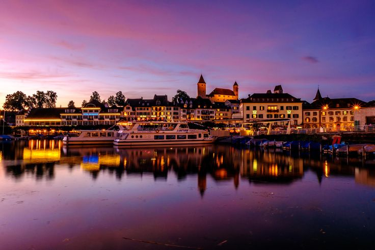 Beautiful Swiss City Rapperswil by Marcel  on 500px