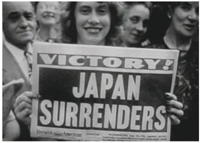 Dates in American Naval History: Aug 14, 1945 - Japan agrees to surrender; last Japanese ships sunk during World War II.
