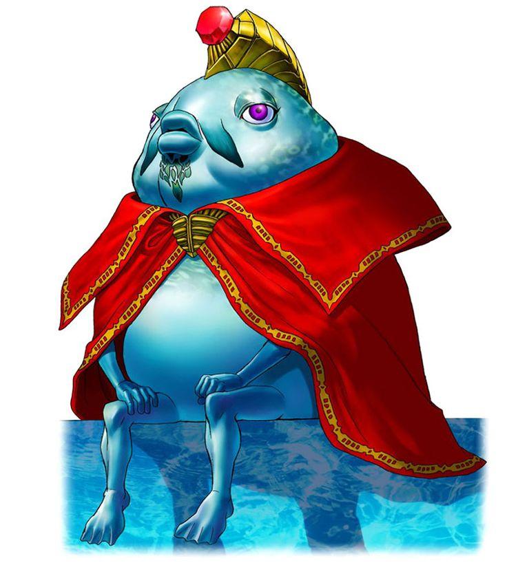 King Zora - The Legend of Zelda: Ocarina of Time 3D | The ...