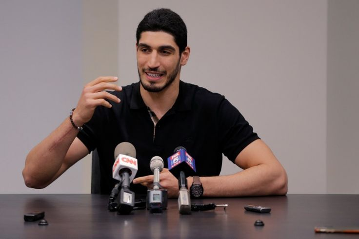 Enes Kanter reportedly subject of arrest warrant by Turkey - The Washington Post