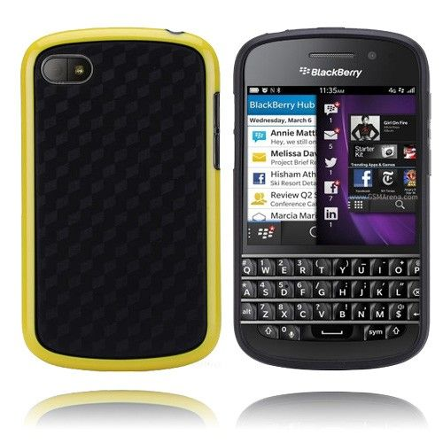 Edge (Gul) BlackBerry Q10 Deksel