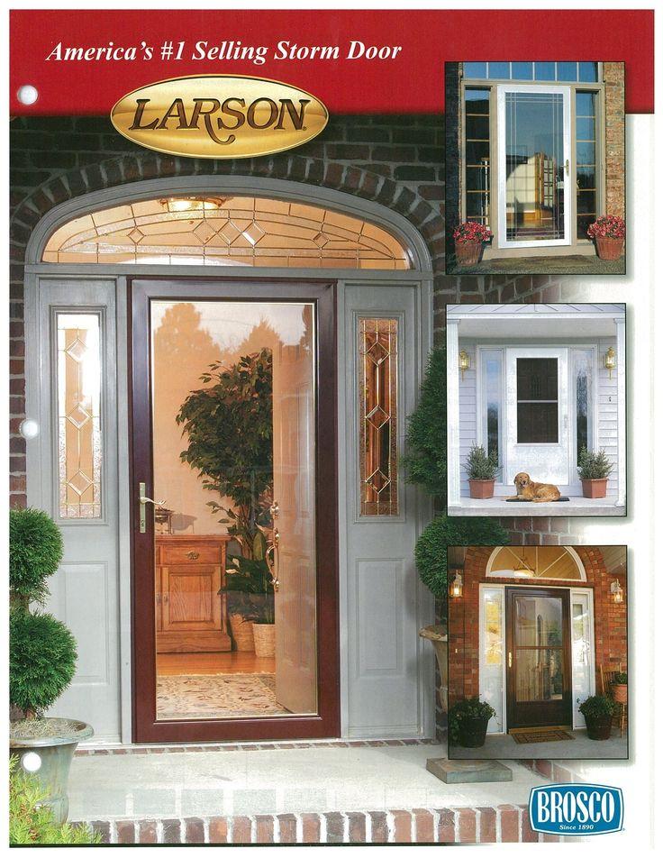 Larson Security Glass Storm Door