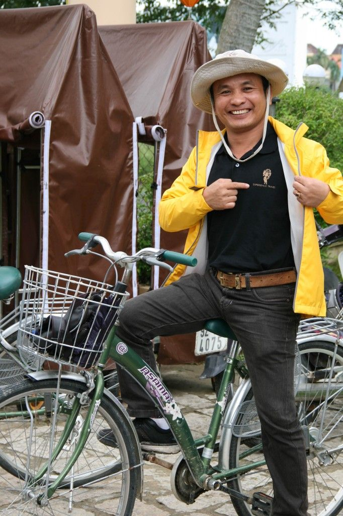 Hao (local Hoi An guide) about to show me round the local village » Experience Travel Group Blog » Matts most recent trip to Vietnam – an overview
