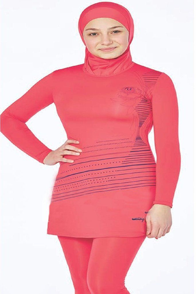 Its very comfortable to use  Code : 0160  For teenager  Tesmay  Fabric Info: 20% Lycra, 80% Polyamide  #abaya #jilbab #muslimahwear #muslimah #muslim #hijabers #hijabfashion #Hijablooms #swimsuit  https://hijablooms.ca/collections/swimsuits/products/swimsuets-7?utm_content=buffer6d8da&utm_medium=social&utm_source=pinterest.com&utm_campaign=buffer