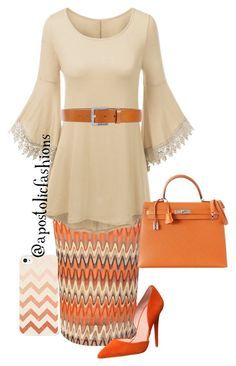 """Apostolic Fashions #806"" by apostolicfashions ❤ liked on Polyvore featuring Glamorous, Office, Hermès and Diesel"