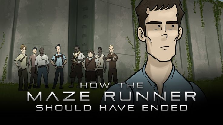 How The Maze Runner Should Have Ended- the last part is where I lost it