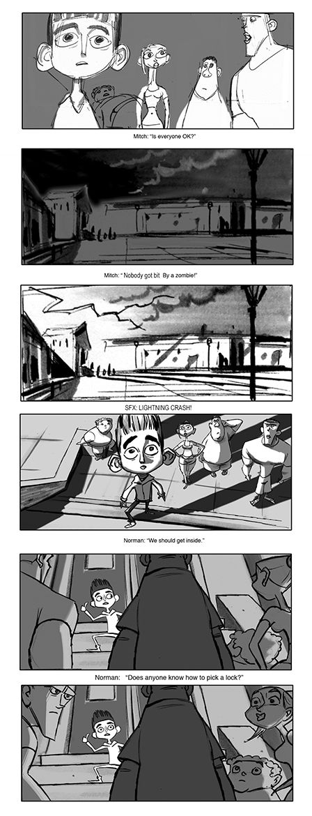 © Laika Entertainment © Focus Features     Some storyboard panel           by Matt Jones     by Matt Jones     by Matt Jones     by Matt Jo...