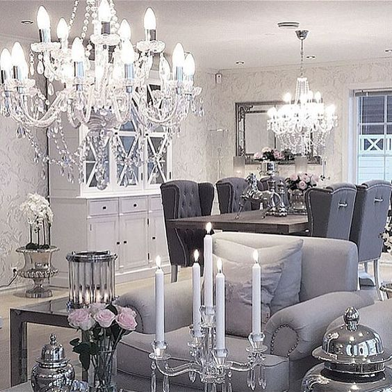 Best 25 dining chair redo ideas on pinterest dining for Glam dining room ideas