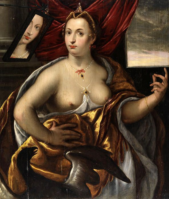 Allegory Of The Face  Frans Floris