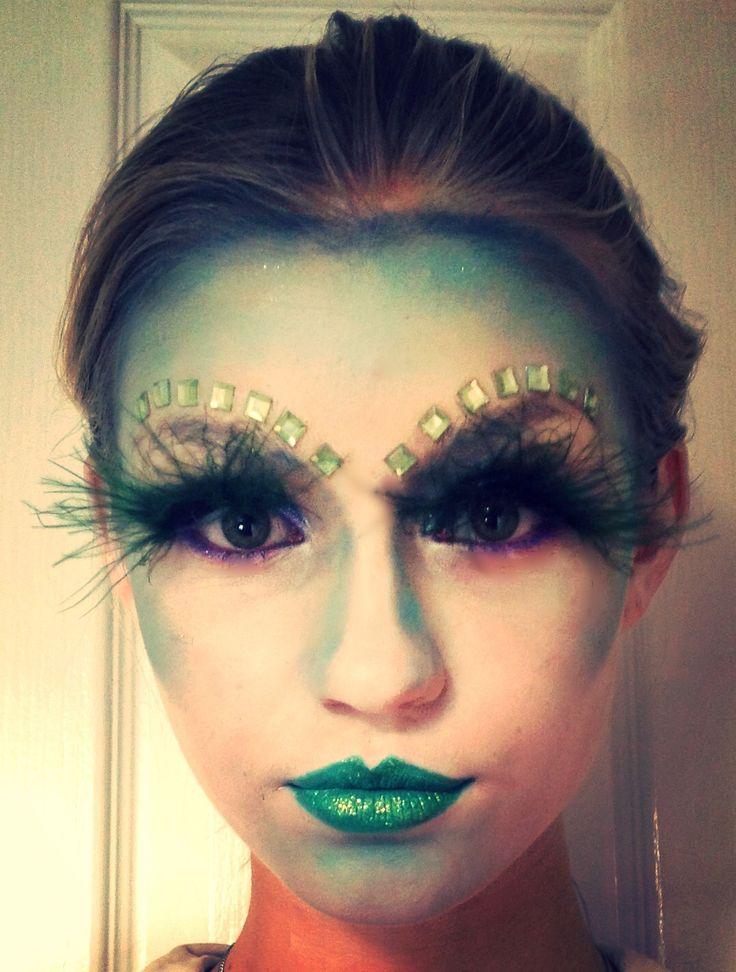 Alien Futuristic Makeup Make Up Pinterest