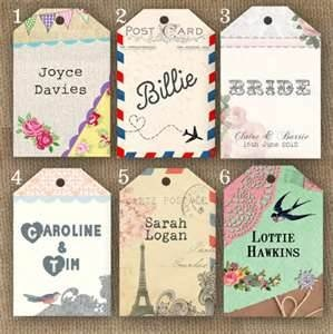 luggage tag wedding place cards - Bing Images