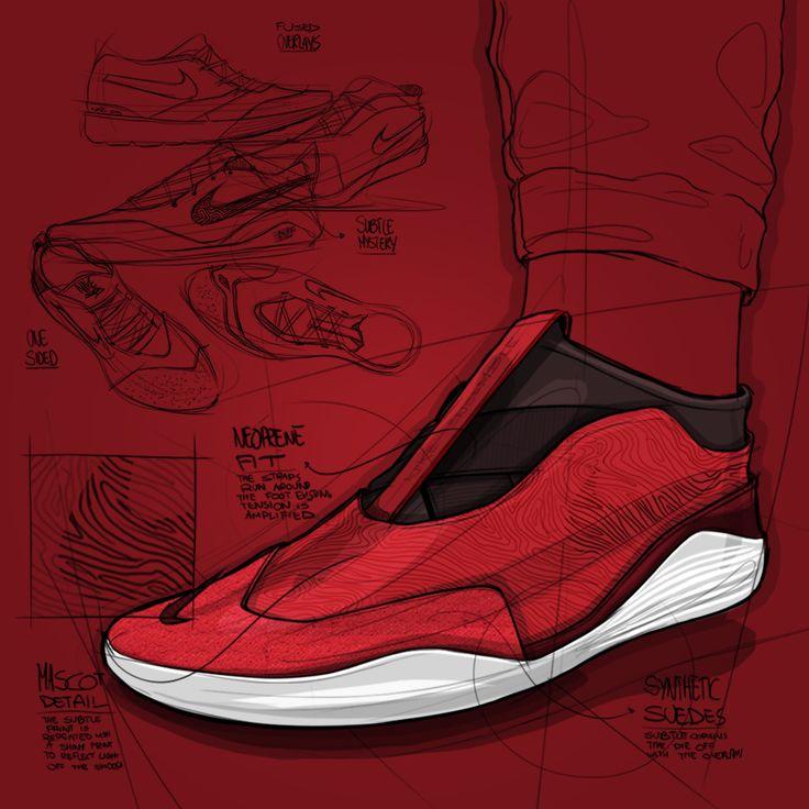 #nike #roshe #socfly #socdart #adidas #y-3 #zeeshan · Product Design  SketchingProduct ...