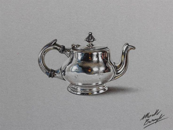 tea kettle by Marcello Barenghi