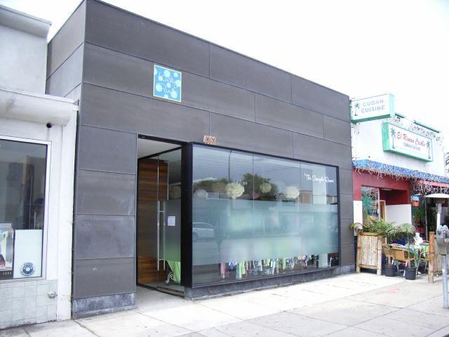 Storefront Bonderized Metal Modern Architecture
