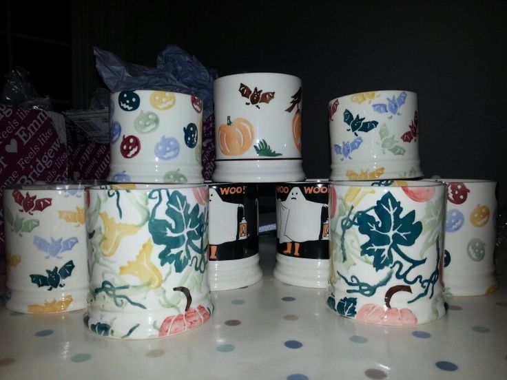 Emma Bridgewater Halloween mugs