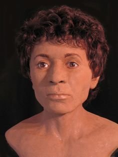 This reconstruction is of a young mummified man, also in the museum's collection, who died in his twenties or early thirties. He lived a few centuries earlier than the other mummies, at a time when Egypt was ruled by a dynasty of Greek kings. He had severe dental problems as well, having multiple cavities including one that caused a sinus infection, possibly killing him. CT scans show that in his last days he had linen packing, dipped in medicine, inserted into one of his cavities to try and…