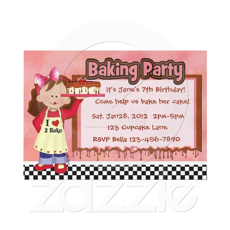 109 best Kids Birthday Party Invitations images on Pinterest ...