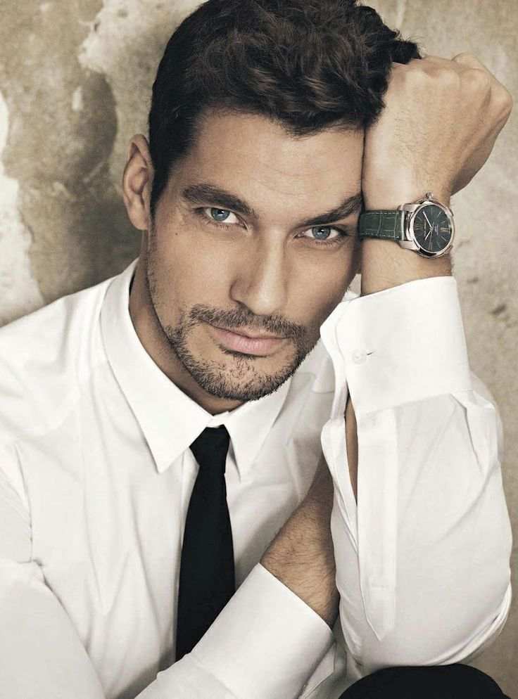 David Gandy was the inspiration for Raine Miller's character Ethan Blackstone in The Blackstone Affair series :)