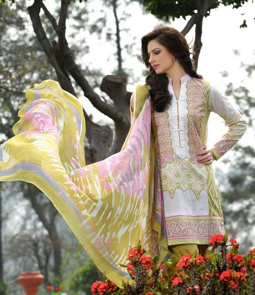 Gohar Embroidered Lawn Suits Collection G_01