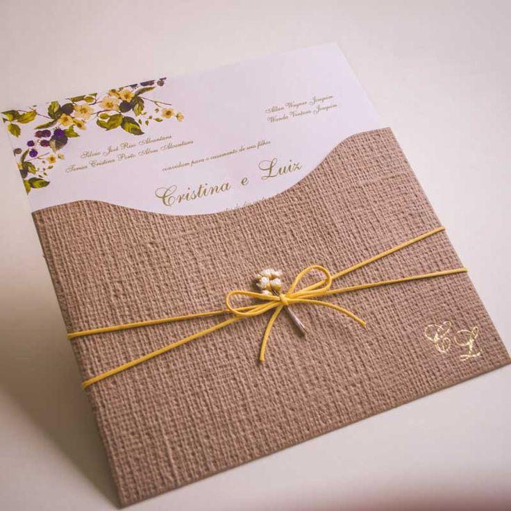 As tendências de Convite de Casamento para 2017