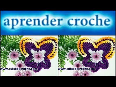 FLORES EM CROCHE | AMOR PERFEITO - YouTube