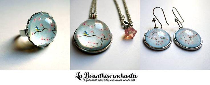 Sakura, les cerisiers en fleurs. https://fr.dawanda.com/shop/la-parenthese-enchantee?q=sakura