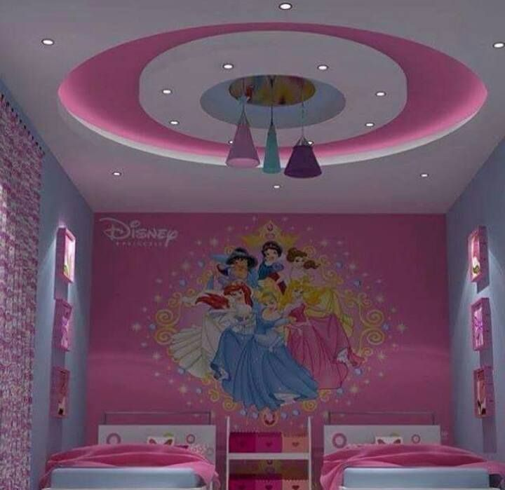 Girls And Kids Room Gypsum Bouard Decor Home Decor Ceiling Design Living Room Interior Ceiling Design Pop False Ceiling Design