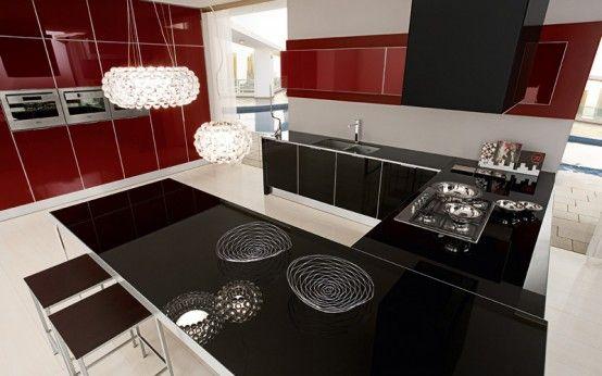 lüks mutfak modelleri 2012 | dekorasyon | pinterest | küchen, Hause ideen