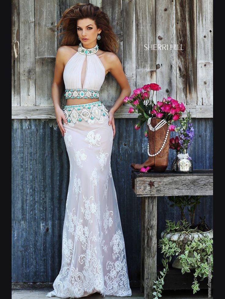Bohemian Ivory Prom Dresses 2018