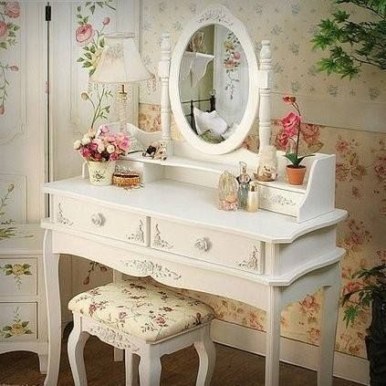 Tocador : Decor, Home, Ideas For, Shabby Chic, Shabbychic, Bedroom, Dressing Table