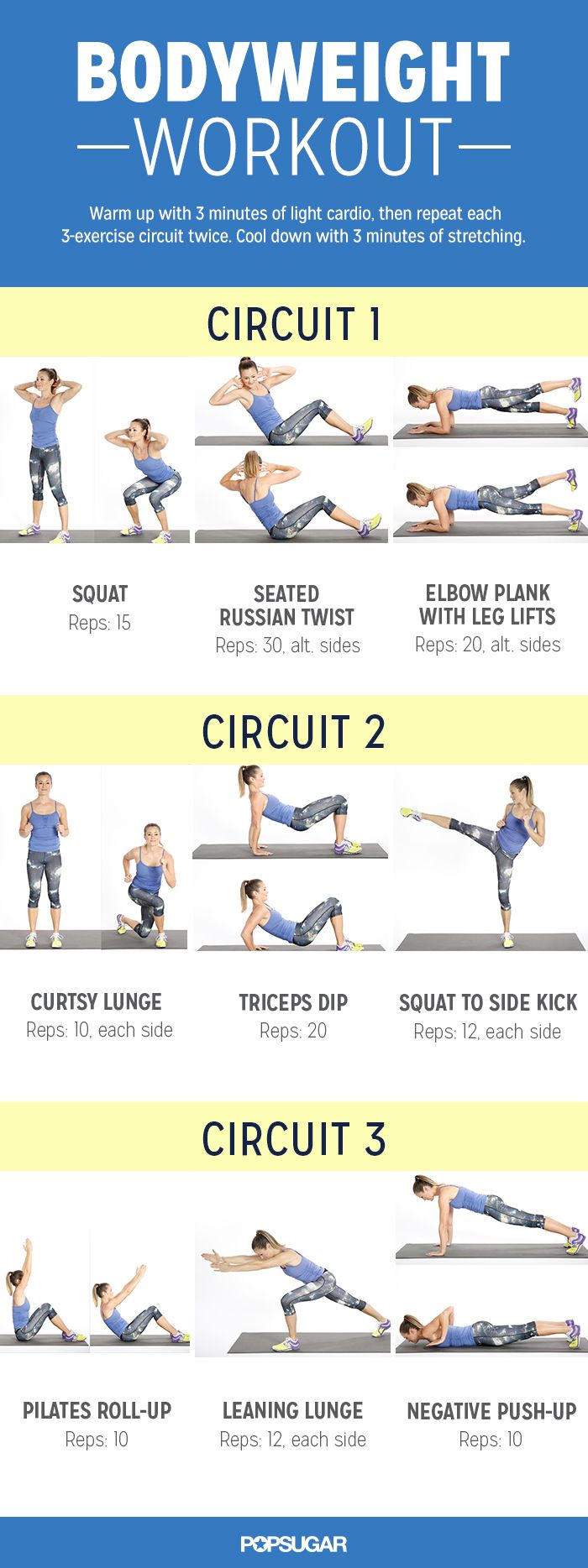 Do-Anywhere Bodyweight Workout