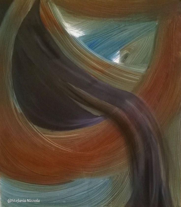 Olio e acrilico su tela, 60x80 cm, 2015.