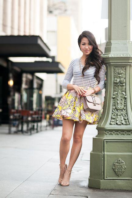 Best 25 Flare Skirt Outfit Ideas On Pinterest Midi