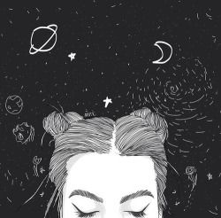 beleza Menina fresca bonita hippie moderno boho vindima indie lua Grunge noite galáxia escuro do menino natureza infinita incrível universo retro adolescente feminino pastel rad planetas alternativos escuridão pálida menina rad