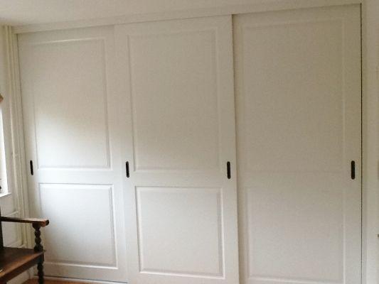Schuifdeurkasten kasten op maat woonidee bedroom closet