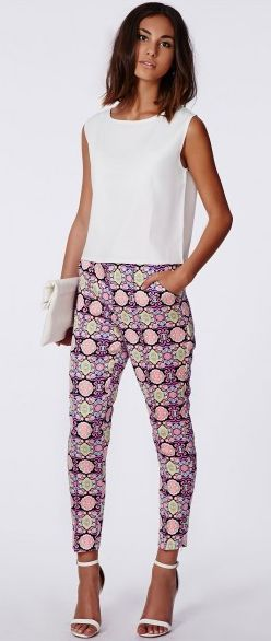 Get an extra 20% off the sale at Missguided! Get these cigarette trousers for only £12.00 with our voucher code: https://www.vouchercodespro.co.uk/missguided?utm_source=pinterest#id=318672