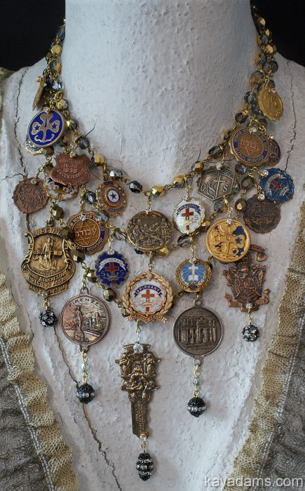 Kay Adams necklace. This is so cool!