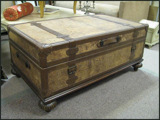 17 Best Images About Chests Trunks Coffee Tables On Pinterest Vintage Luggage Steamer