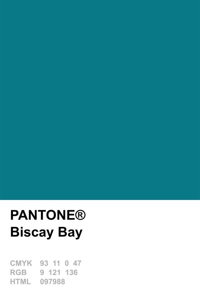 Pantone 2015 Biscay Bay