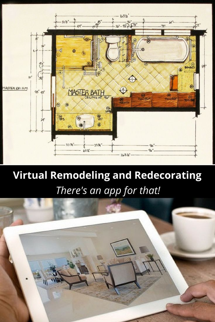 Remodeling and redecorating is made easier by several apps and virtual tools...here are my faves: