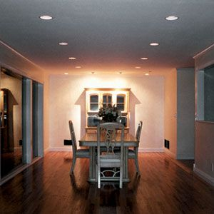 installing recessed lights - Dining Room Recessed Lighting