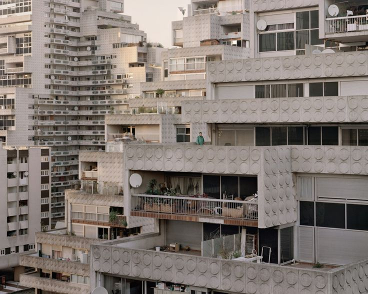 60-Year-Old French Apartments Look Like a Utopian Dream | José, 89, Les Damiers, Courbevoie, 2012. | Credit: Laurent Kronental | From Wired.com