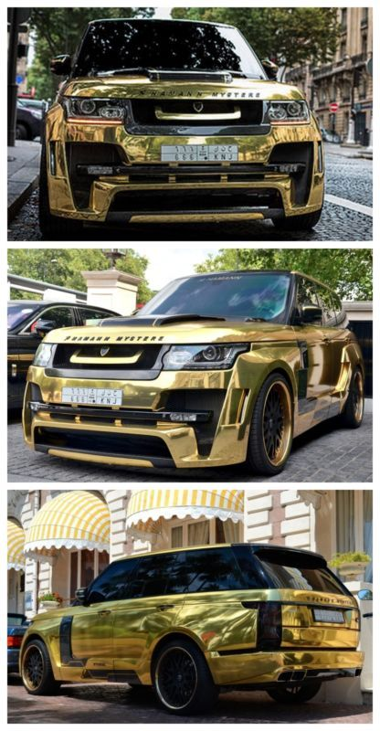 One in a million! Click to find out about why this Hamann Range Rover Mystere is the nuts! #spon #coolwhip