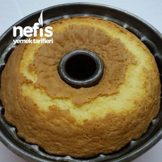 Nişastalı Kremalı Sünger Kek