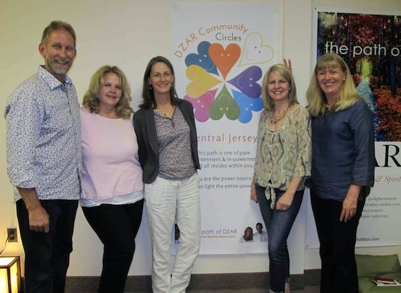 Central New Jersey DZAR Circle Meetup in Plainsboro, NJ, USA.  Hosted by the beautiful trio - Heidi, Terri and and Gillie.  Check the schedule on http://www.meetup.com/Central-Jersey-Spiritual-Circle/