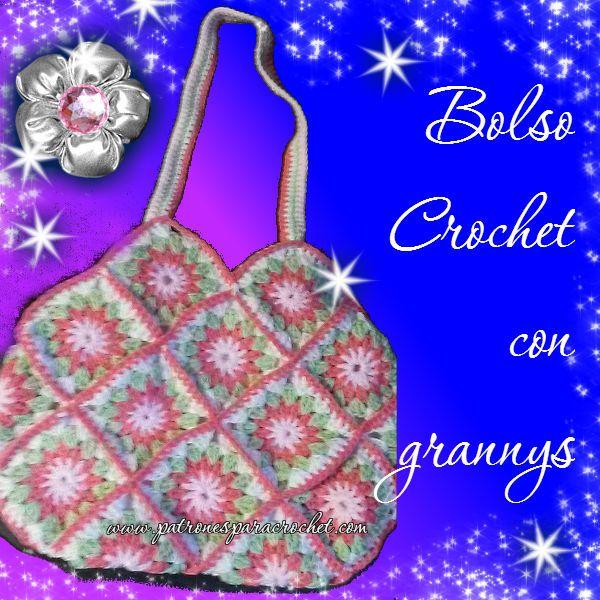 1743 best bolsos images on Pinterest | Bolsos de ganchillo ...