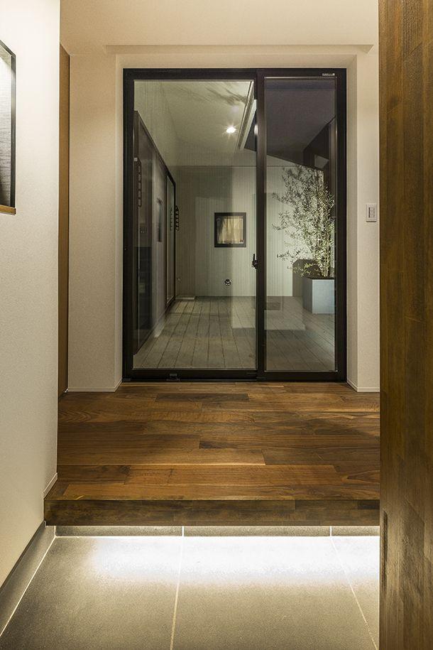 群青色の平屋・間取り(福岡県福岡市)   注文住宅なら建築設計事務所 フリーダムアーキテクツデザイン