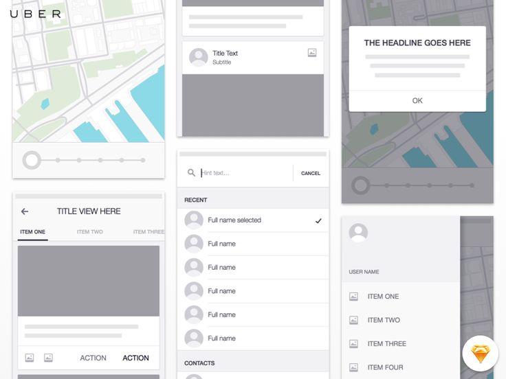 Uber+iOS+Wireframe