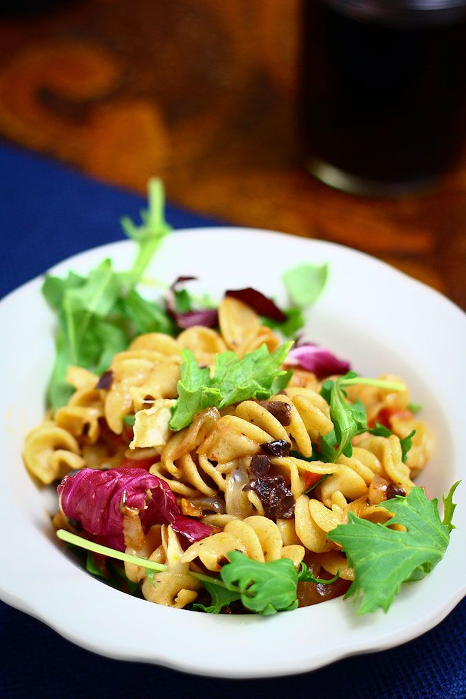 goat brie arugula pasta | Recipes | Pinterest