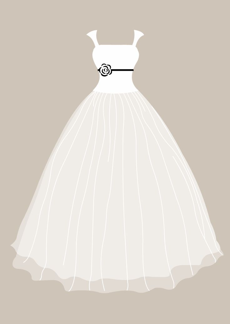 wedding dress clipart - Google Search                                                                                                                                                                                 More